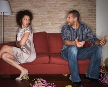 Kekasih yang Sedang Marah