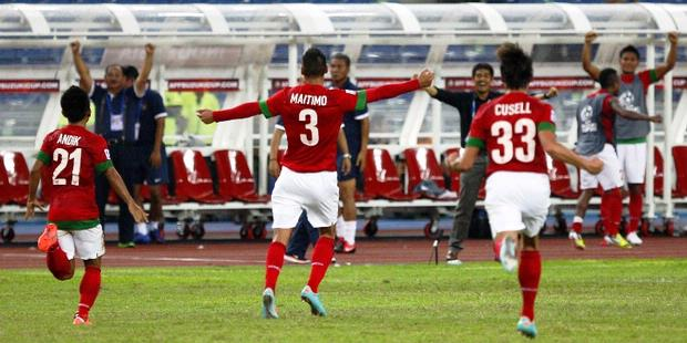 Indonesia Imbang Lawan Laos