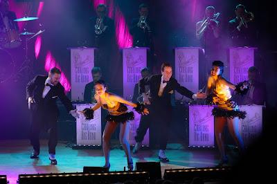 Gunhild Carling, Carling Big Band, Harlem Hot Shots, Lindyhop, Maria Zeniou, Jacob Schenström, Luftakrobatik, Trolleri, Jazzvarieté, Jazz, Helsingborg, 2016