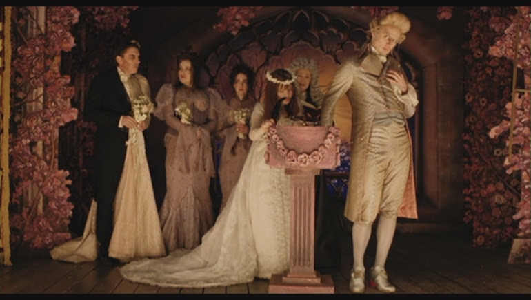 The wedding of Violet Baudelaire and Count Olaf - 'Lemony Snickets a Series of Unfortunate Events'