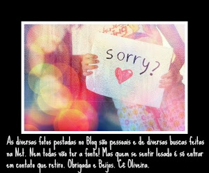 I'm Sorry!!!