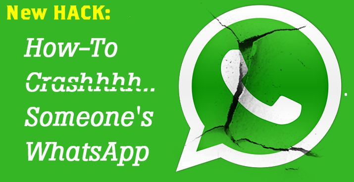 How to Crash Your Friends' WhatsApp Just By Sending Crazy Smileys