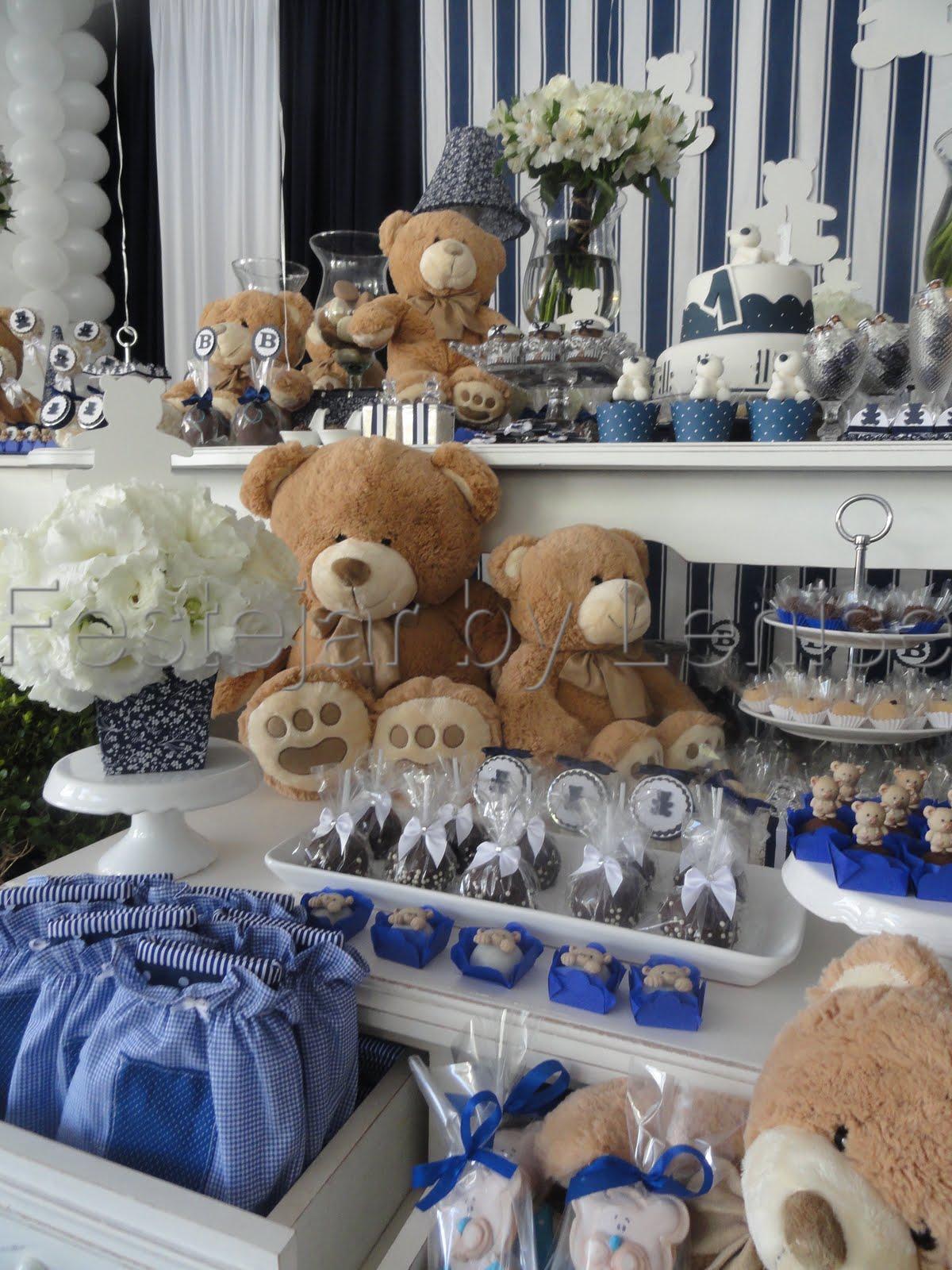 Festejar By Lenise: Urso Azul Marinho e Branco #2E406E 1200x1600 Banheiro Azul Marinho Com Branco