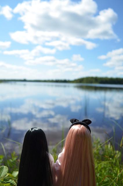 azone nuket ja järvimaisema