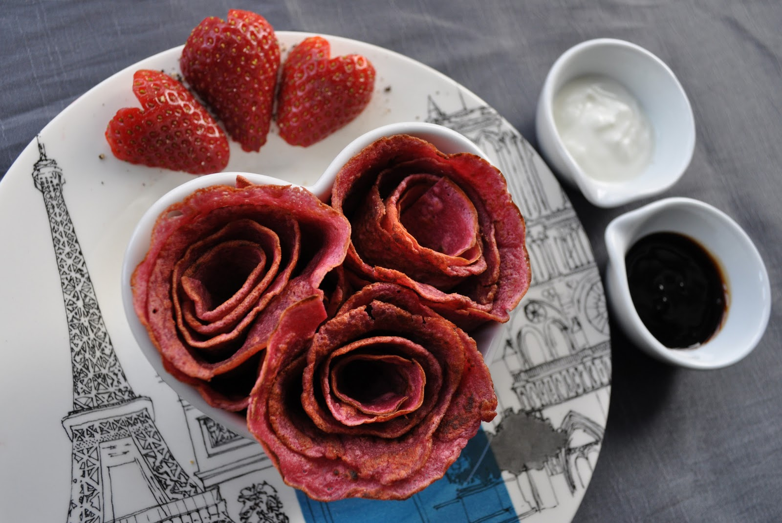 like my idea red rose pancakes