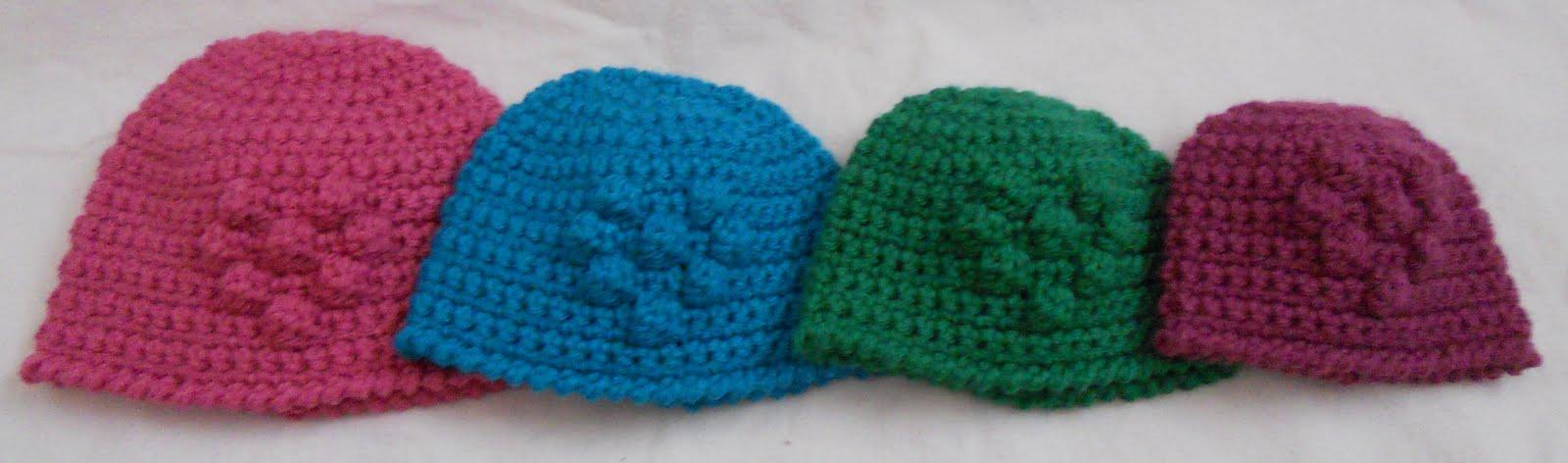 Free Crochet Pattern Bobble Hat : Crafty Woman Creations: Free Baby Heart Bobble Beanie Pattern