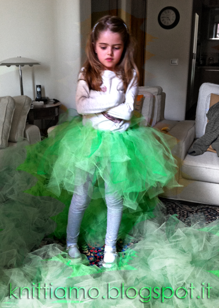 Mathilde con gonna tulle