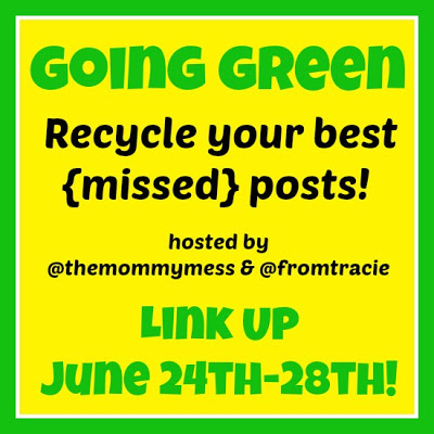 Going Green with The Mommy Mess and From Tracie