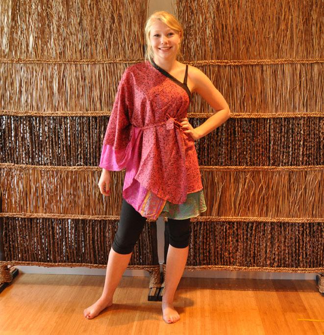 magic wrap skirt instructions