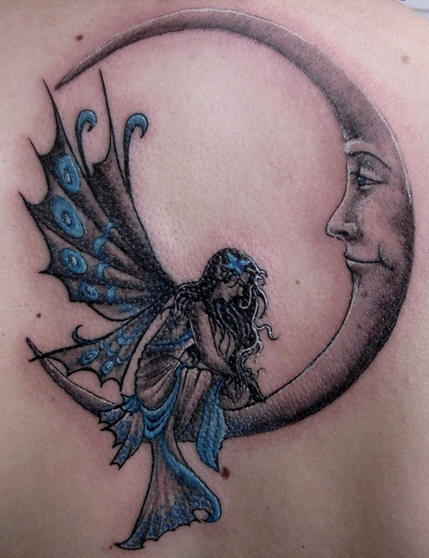 three moons tattoo - photo #2