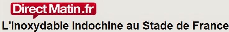Conciertos históricos y excepcionales de Indochine (27-28 junio 2014 - Estadio de Francia)