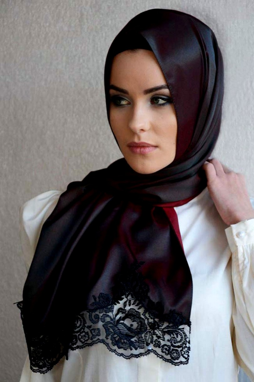 Scarf Styles | Arabic Scarf 2013-2014 | Indian Fashion ...
