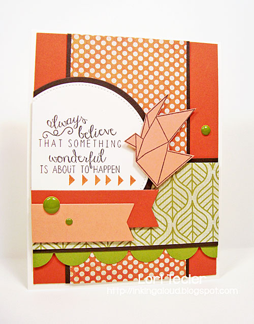 Something Wonderful card-designed by Lori Tecler/Inking Aloud-stamps from Reverse Confetti