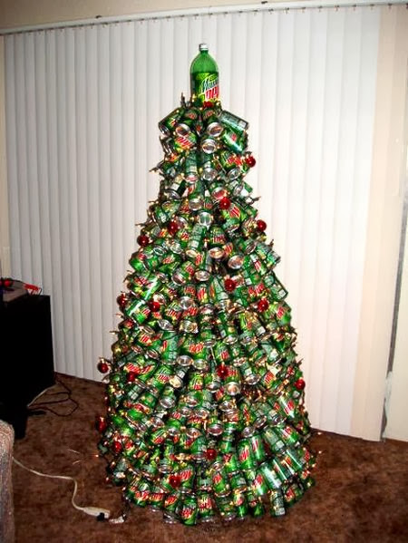 Mtn Dew Christmas tree