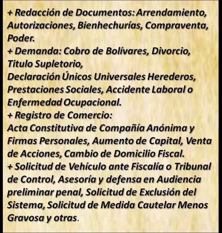 Despacho Legal Reyes & Asociados