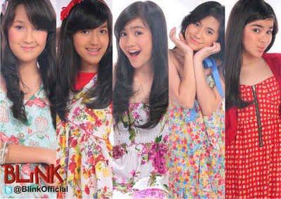 blink girlband remaja indonesia