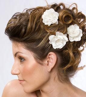 wedding hair pieces brides