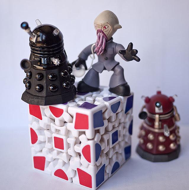 Rubik Gear Cube Dr Who Daleks