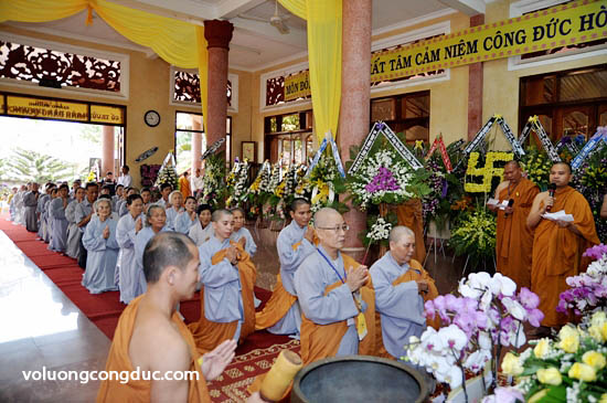Lễ viếng Giác Linh Cố Hoà Thượng Thích Giác Dũng - letang-07