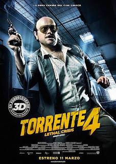 Cartel de la película Torrente 4: Lethal Crisis