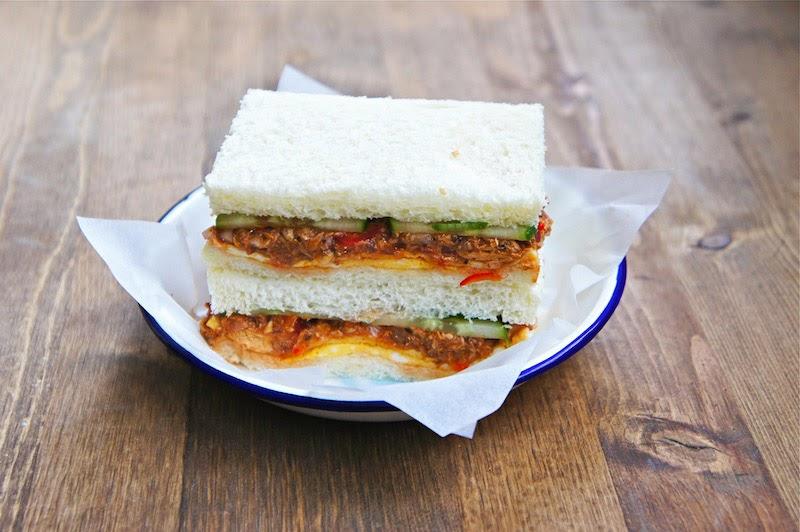 Seasaltwithfood Malaysian Style Sardine Sandwich