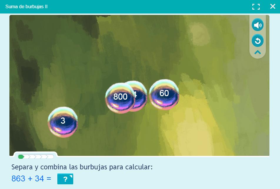Burbujas matemáticas