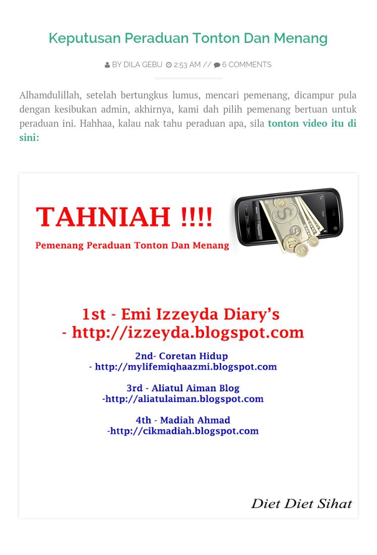 http://dietdietsihat.blogspot.com/2015/01/keputusan-peraduan-tonton-dan-menang.html
