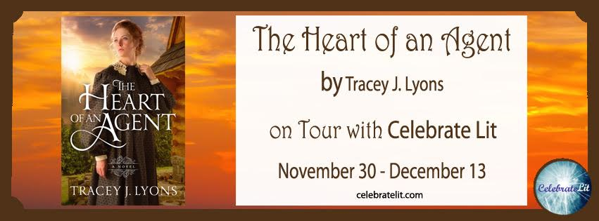 """Heart of An Agent"" by Tracey Lyons Blog Tour & GIVEAWAY!"