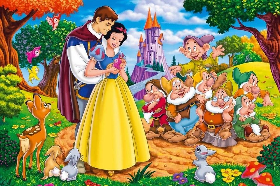 Blancanieves y los 7 Enanitos, cuentos infantiles
