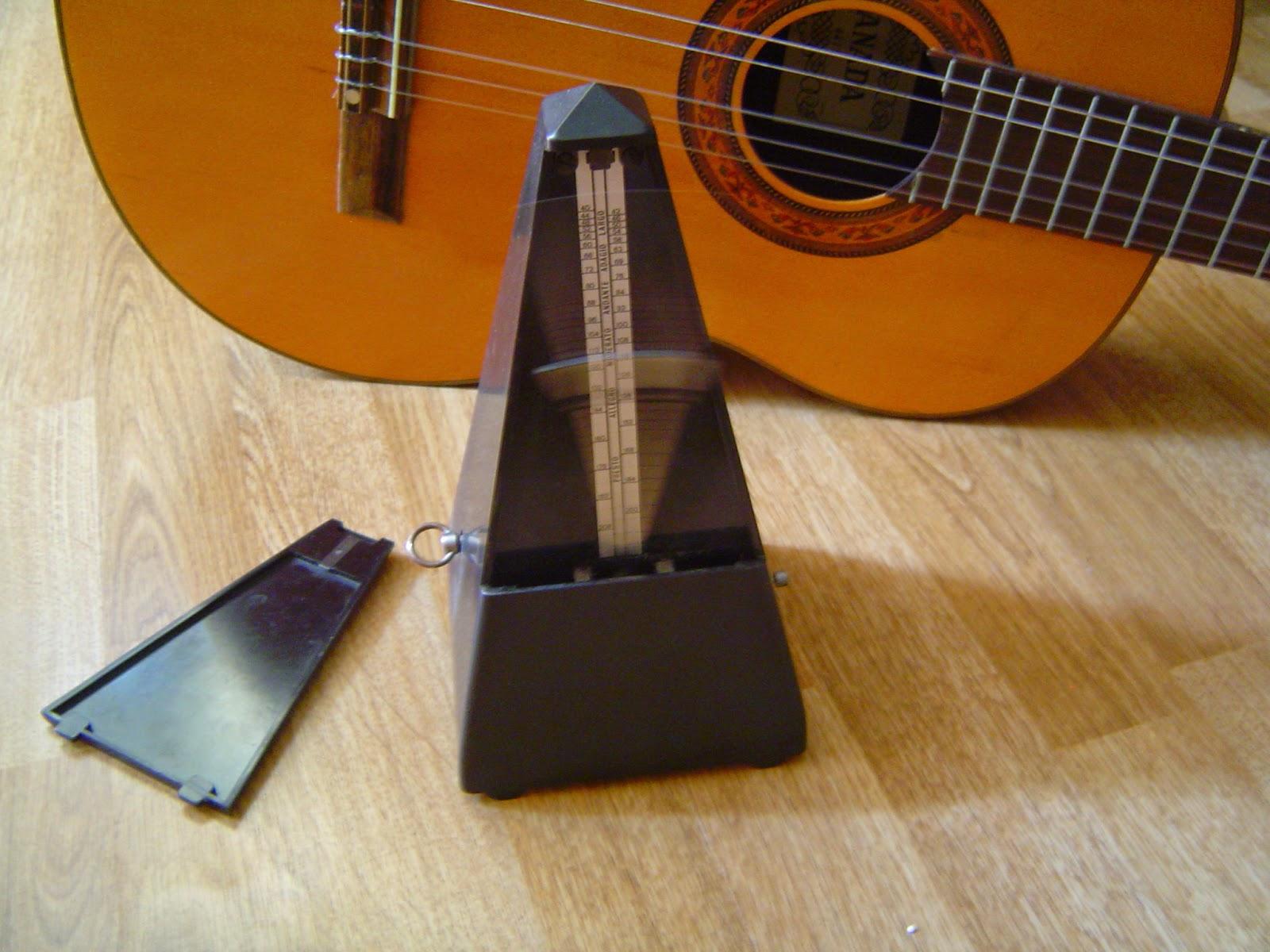 tips bermain gitar, berlatih gitar, metronome, belajar gitar,