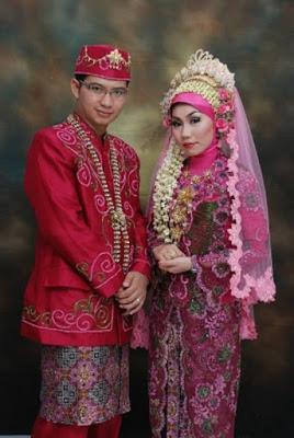foto pengantin muslimah adat jawa