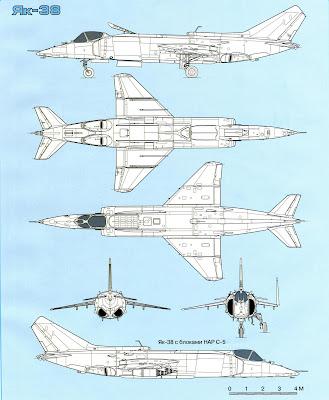 Тактико-технические характеристики Як-38