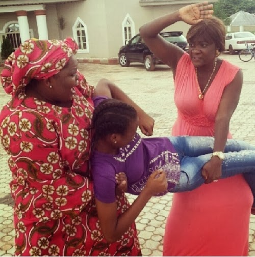 eniola badmus mercy johnson fighting