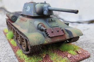 Plastic Soldier Company Soviet T-34 PSC 1/72 scale Battlegroup Kursk