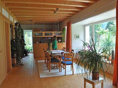 Гостинная - дизайн дома. Как построить дешевый дом из соломы. Фото инструкция по строительству.