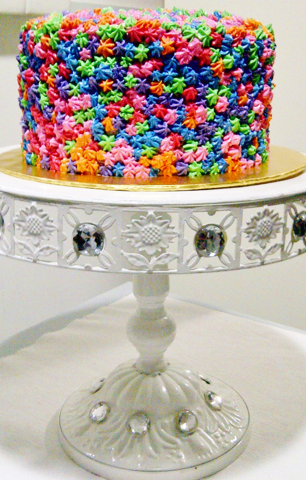 Just Lildaisy ( Ampang ): Rainbow Cakes : Design and deco