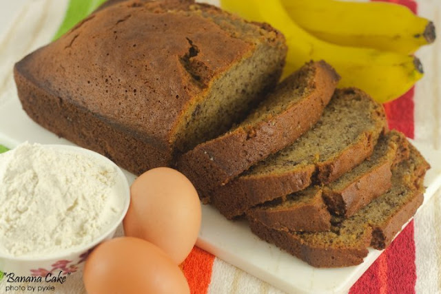 How To Bake Banana Cake + Baking Tips by pursuitoffunctionalhome.com