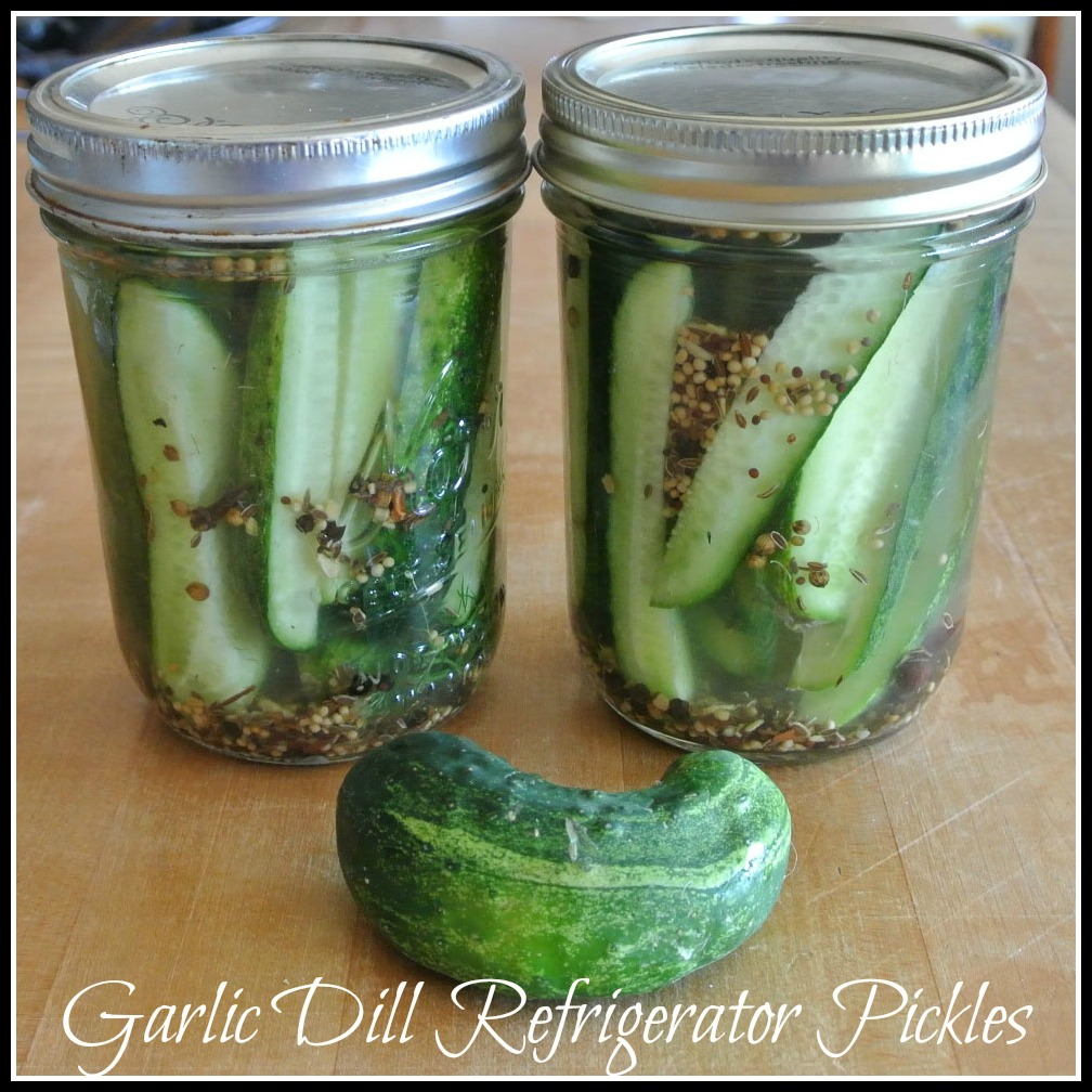 Mom, What's For Dinner?: Refrigerator Dill Pickles