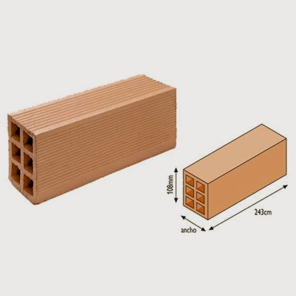 Dimensiones de ladrillo presenta elegant excellent - Dimensiones ladrillo visto ...