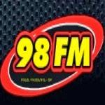 ouvir a Rádio 98 FM 98,1 Presidente Prudente SP