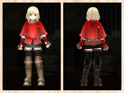 冒険者の服・赤1・重量化