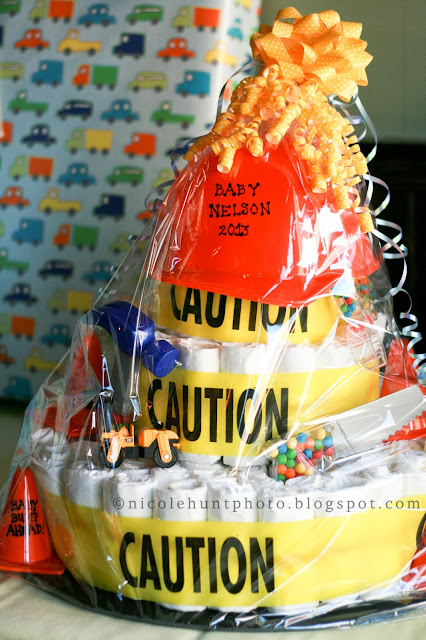 Baby Shower Cakes Long Island ~ My sister s construction themed baby shower long island