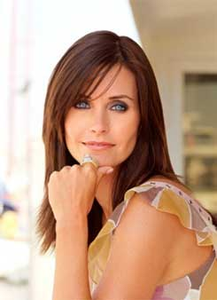 Courteney Cox Long Hairstyles
