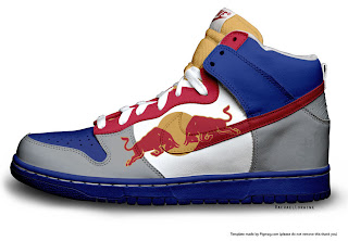 red bull Dunks