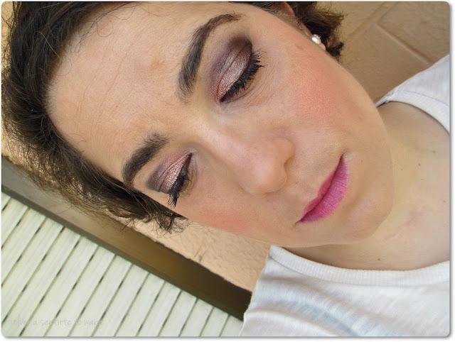 Maquillaje con Sleek, Nars e YSL en rosas + nuevo look