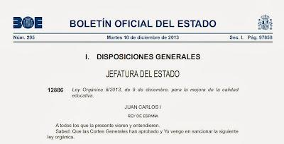http://www.boe.es/boe/dias/2013/12/10/pdfs/BOE-A-2013-12886.pdf
