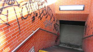 Efektivita antigraffitové ochrany - před odstraněním graffity