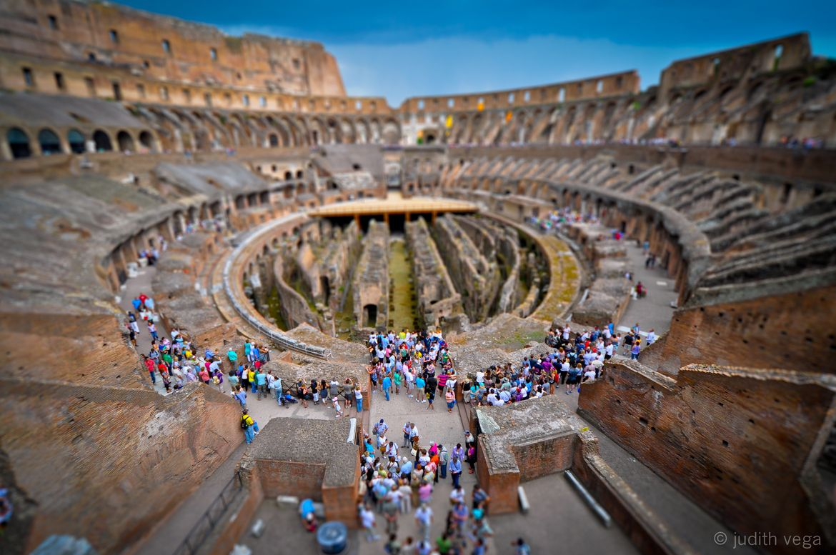 16. Photograph Colosseum, Rome by Judith Vega