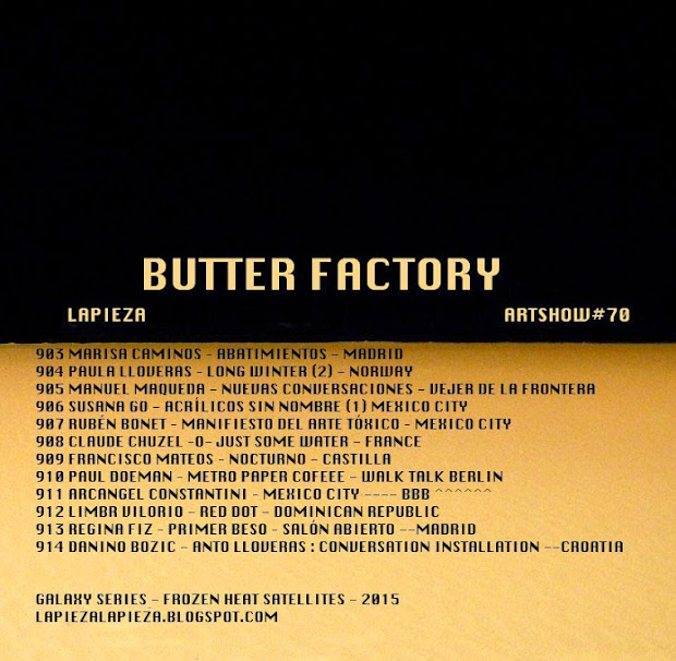 EXPO #70 / BUTTER FACTORY / 2015