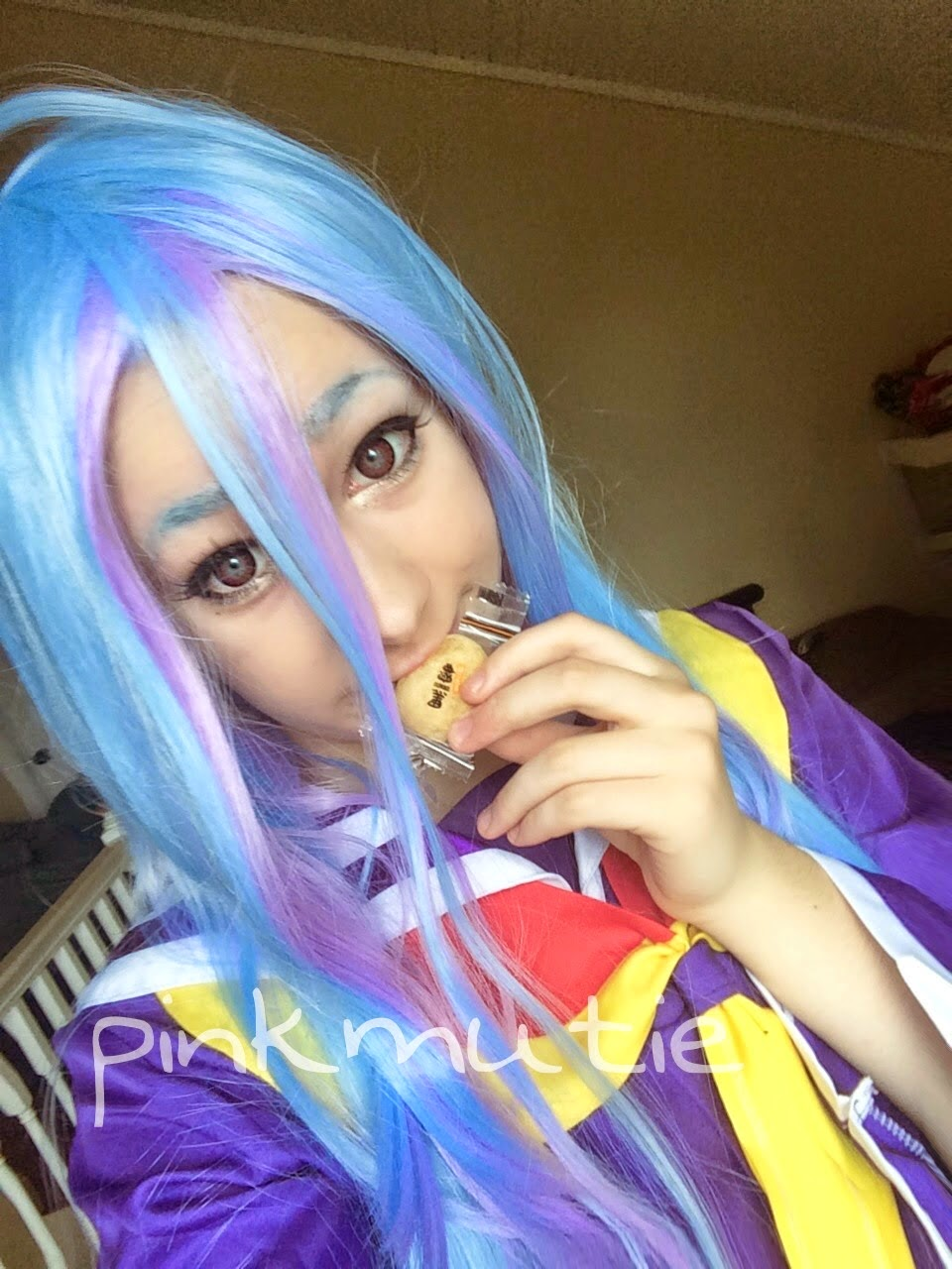 Shiro Cosplay Wig from No Game No Life